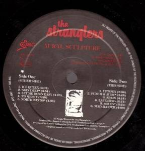The Stranglers: Aural Sculpture (LP) - Bild 4