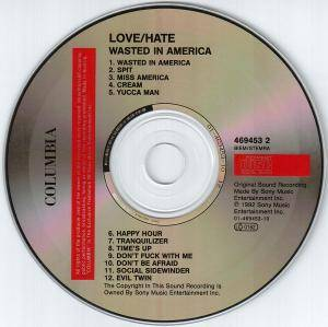Love/Hate: Wasted In America (CD) - Bild 3