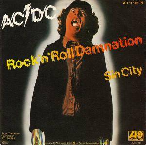AC/DC: Rock'n'Roll Damnation - Cover