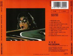 Alice Cooper: Raise Your Fist And Yell (CD) - Bild 3