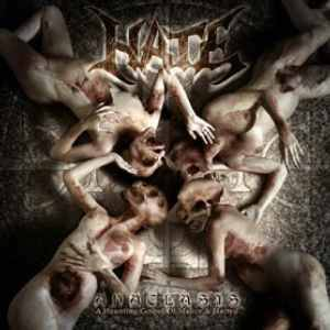 Hate: Anaclasis - A Haunting Gospel Of Malice & Hatred - Cover
