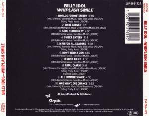 Billy Idol: Whiplash Smile (CD) - Bild 3
