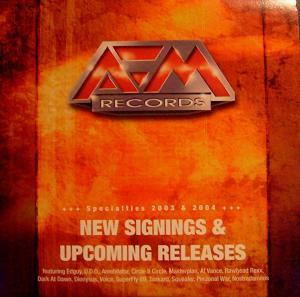 AFM Records - New Signings & Upcoming Releases - Cover