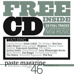Cover - Kristoffer Ragnstam: paste magazine New - Music Sampler 46: September 2008