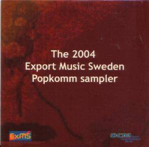 Cover - Gemini Five: ExMS - The 2004 Export Music Sweden Popkomm sampler