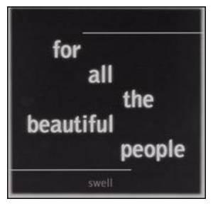 Cover - Swell: For All The Beautiful People