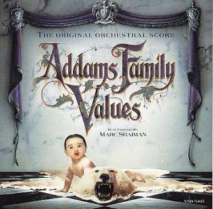 Cover - Marc Shaiman: Addams Family Values