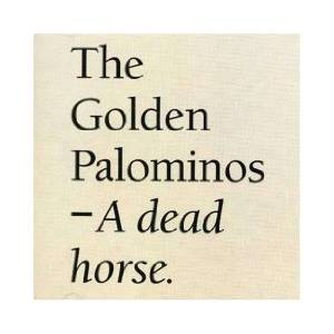 The Golden Palominos: Dead Horse, A - Cover