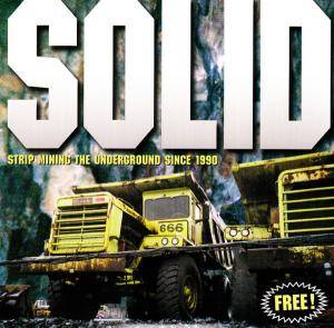 Cover - Karaboudjan: Solid - Strip Mining The Underground Since 1990