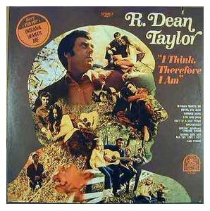 Cover - R. Dean Taylor: I Think, Therefore I Am
