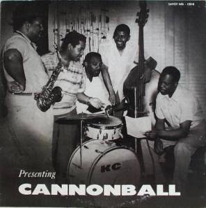 Cover - Cannonball Adderley: Presenting Cannonball