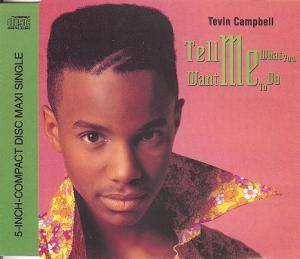 Cover - Tevin Campbell: Tell Me What You Want Me To Do