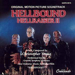 Cover - Christopher Young: Hellbound - Hellraiser II