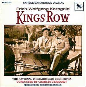 Cover - Erich Wolfgang Korngold: Kings Row