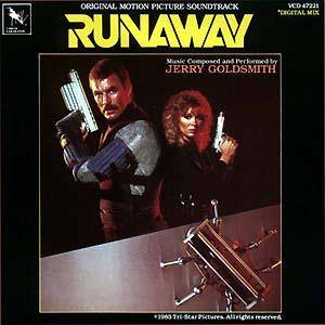 Jerry Goldsmith: Runaway - Cover
