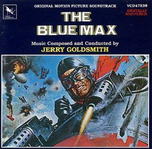 Jerry Goldsmith: Blue Max, The - Cover