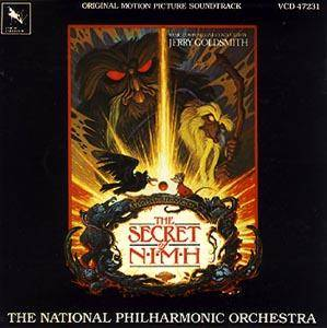 Jerry Goldsmith: Secret Of Nimh, The - Cover