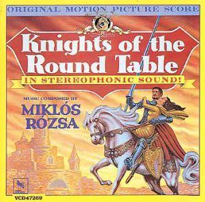 Cover - Miklós Rózsa: Knights Of The Round Table