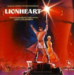Jerry Goldsmith: Lionheart - Cover
