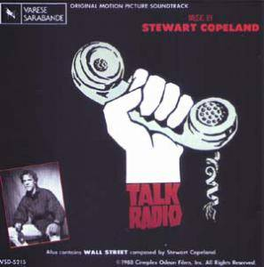 Cover - Stewart Copeland: Talk Radio / Wall Street