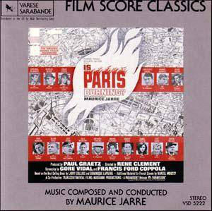 Cover - Maurice Jarre: Is Paris Burning?