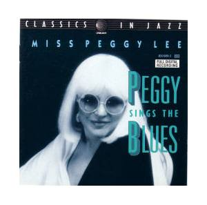 Cover - Peggy Lee: Peggy Sings The Blues
