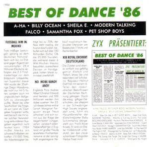 Cover - P4F: Best Of Dance '86