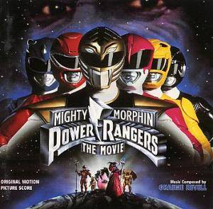 Cover - Graeme Revell: Mighty Morphin Power Rangers: The Movie