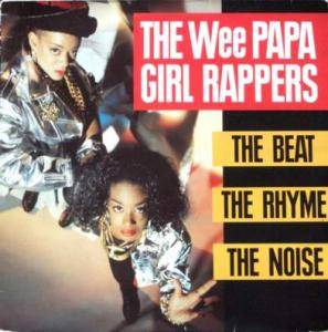 Cover - Wee Papa Girl Rappers: Beat The Rhyme The Noise, The