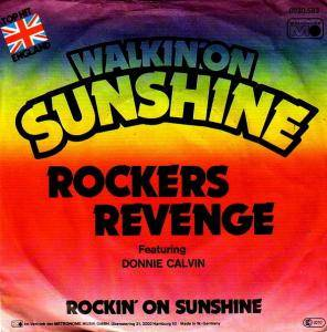 Rockers Revenge: Walkin' On Sunshine - Cover
