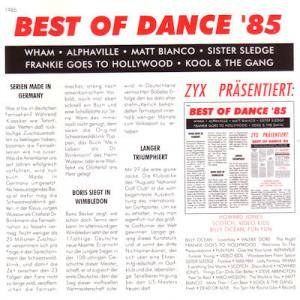 Cover - Miko Mission: Best Of Dance '85