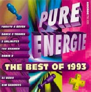 Pure Energie - The Best Of 1993 - Cover