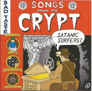 Satanic Surfers: Songs From The Crypt - Cover