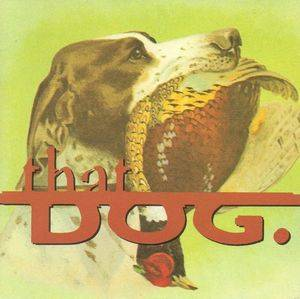 Cover - that dog.: that dog.