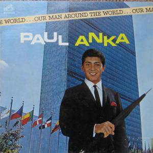 Cover - Paul Anka: Our Man Around The World