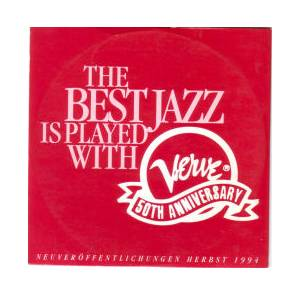 Cover - Kenny Barron: Best Jazz Is Played With Verve 50th Anniversery (Neuveröffentlichungen Herbst 1994), The