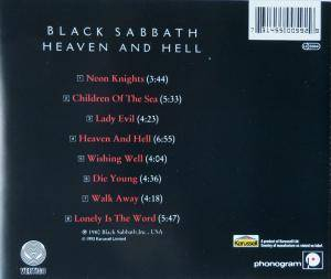 Black Sabbath: Heaven And Hell (CD) - Bild 2