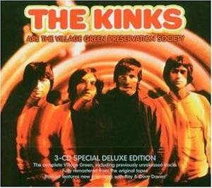 The Kinks: Kinks Are The Village Green Preservation Society, The - Cover