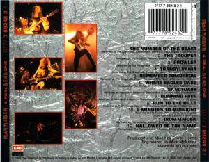 Iron Maiden: A Real Dead One (CD) - Bild 3