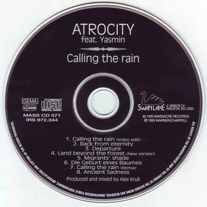 Atrocity Feat. Yasmin: Calling The Rain (CD) - Bild 3