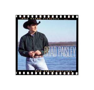 Cover - Brad Paisley: Who Needs Pictures