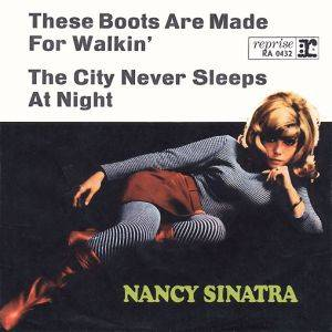 Nancy Sinatra: These Boots Are Made For Walkin' - Cover