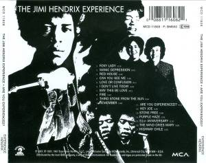 The Jimi Hendrix Experience: Are You Experienced (CD) - Bild 2