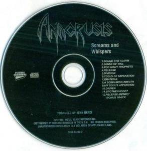 Anacrusis: Screams And Whispers (CD) - Bild 4