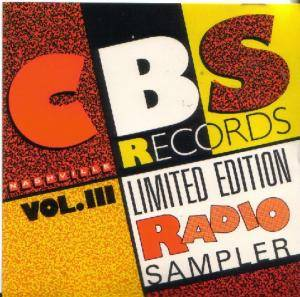Cover - Janie Fricke: CBS Records Limited Edition Radio Sampler Vol. III Nashville