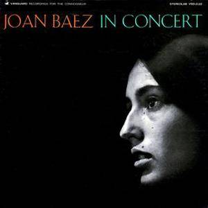 Joan Baez: Joan Baez In Concert - Cover