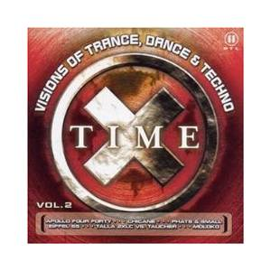 Cover - DJ Ed: Time X Vol. 2 - Visions Of Trance, Dance & Techno