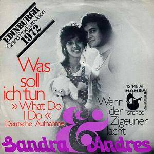 Cover - Sandra & Andres: Was Soll Ich Tun (What Do I Do)