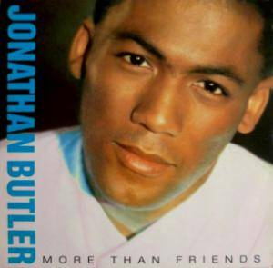Jonathan Butler: More Than Friends - Cover