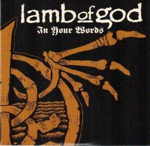 Cover - Lamb Of God: In Your Words